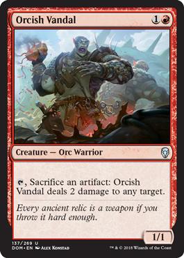 Orcish Vandal - Foil