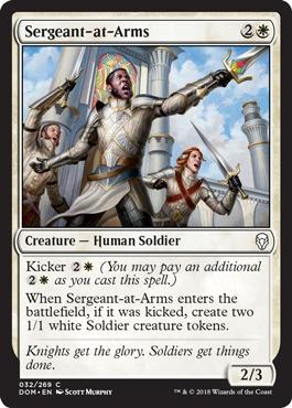 Sergeant-at-Arms - Foil