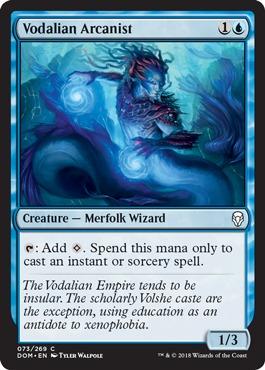Vodalian Arcanist - Foil