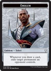 Emblem - Teferi, Mage of Zhalfir