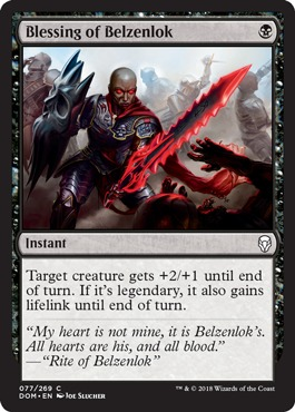 Blessing of Belzenlok - Foil