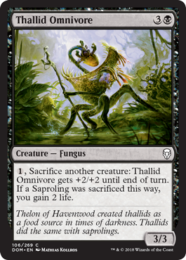 Thallid Omnivore - Foil