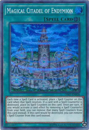 Magical Citadel of Endymion - OP07-EN008 - Super Rare - Unlimited Edition