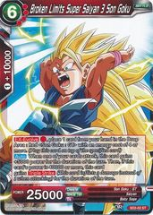 Broken Limits Super Saiyan 3 Son Goku - SD2-02 - ST
