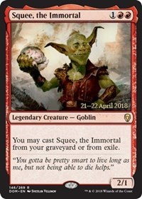 Squee, the Immortal - Foil - Prerelease Promo