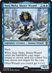 Naru Meha, Master Wizard - Foil - Prerelease Promos