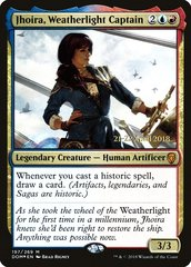 Jhoira, Weatherlight Captain - Foil - Prerelease Promo