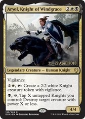Aryel, Knight of Windgrace - Foil - Prerelease Promo