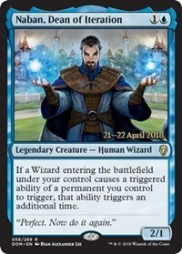 Naban, Dean of Iteration - Foil - Prerelease Promo