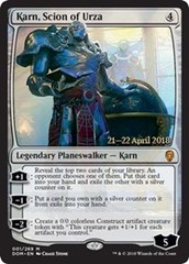 Karn, Scion of Urza - Foil - Prerelease Promo