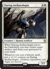 Daring Archaeologist - Foil - Prerelease Promo