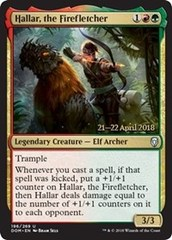 Hallar, the Firefletcher - Foil - Prerelease Promo