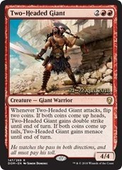 Two-Headed Giant (Dominaria Prerelease Foil)