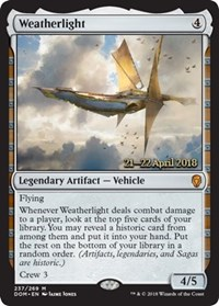 Weatherlight - Foil - Prerelease Promo