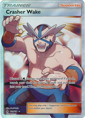 Crasher Wake - 129/131 - Full Art Ultra Rare