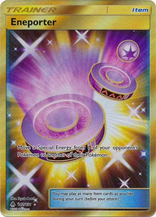 Eneporter - 142/131 - Secret Rare