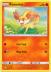 Fennekin - 15/131 - Common