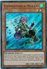 Elementsaber Makani - FLOD-EN020 - Ultra Rare - 1st Edition on Channel Fireball