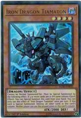 Iron Dragon Tiamaton - FLOD-EN032 - Ultra Rare - 1st Edition