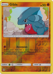 Gible - 60/131 - Common - Reverse Holo