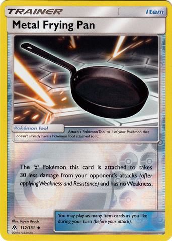 Metal Frying Pan - 112/131 - Uncommon - Reverse Holo