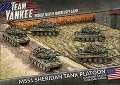 United States: M551 Sheridan Platoon