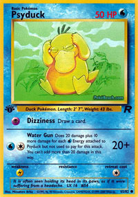 Psyduck - 65/82 - Common - 1st Edition
