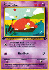 Slowpoke - 67/82 - Common - 1st Edition