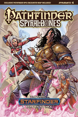 Pathfinder: Spiral Of Bones #4 (Of 5) (Cover A - Santucci)