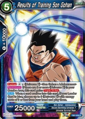 Results of Training Son Gohan - TB1-028 - R