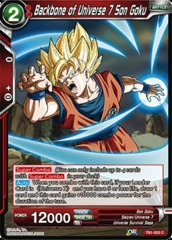 Backbone of Universe 7 Son Goku (Foil) - TB01-003 - C