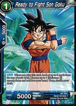 Ready to Fight Son Goku (Foil) - TB01-027 - C