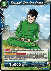 Focused Mind Son Gohan (Foil) - TB01-029 - C