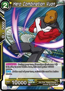 Hero Combination Vuon (Foil) - TB1-084 - C