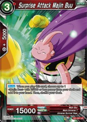 Surprise Attack Majin Buu (Foil) - TB1-007 - UC