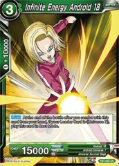 Infinite Energy Android 18 (Foil) - TB1-055 - UC