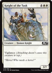 Knight of the Tusk - Foil