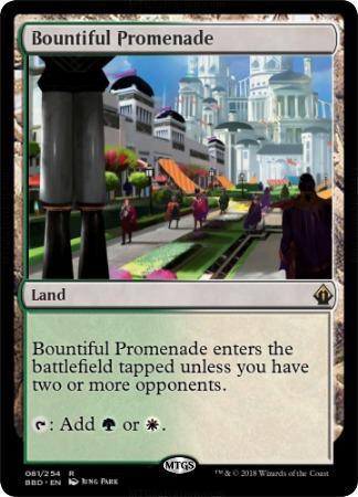 Bountiful Promenade - Foil