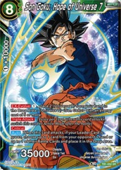 Son Goku, Hope of Universe 7 - TB01-052 - SR