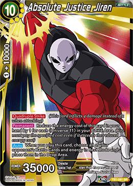 Absolute Justice Jiren - TB01-081 - SR