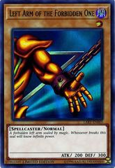 Left Arm of the Forbidden One - LART-EN005 - Ultra Rare - Limited Edition