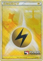 Lightning Energy - 91/95 - Crosshatch Holo Play! Pokemon Promo