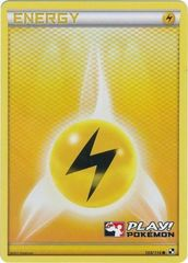 Lightning Energy - 108/114 - Crosshatch Holo Play! Pokemon Promo