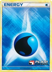 Water Energy - 2010 Crosshatch Holo Play! Pokemon Promo