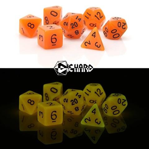 RPG Set - Glow-in-the-Dark Orange