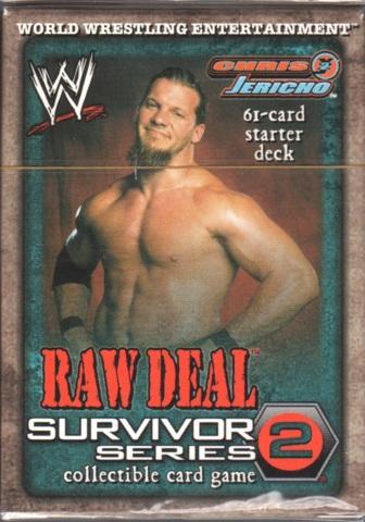 Raw Deal Survivor Series 2 Chris Jericho Starter Deck