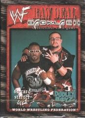 Raw Deal Backlash Dudley Boys Starter Deck