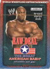 Raw Deal The Great American Bash Lashley Starter Deck