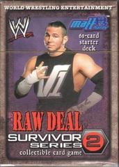 Raw Deal Survivor Series 2 Matt Hardy Starter Deck