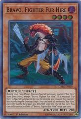 Bravo, Fighter Fur Hire - DASA-EN019 - Super Rare - 1st Edition